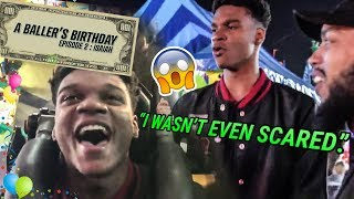This Is How The #1 Player In The Country TURNS UP! Isaiah Todd Gets SCARED On His Birthday 😱