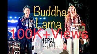 NEPAL IDOL Live concert in jawalakhel / Buddha lama/Nishan/pratap