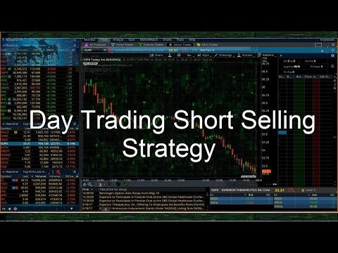 How to Short a Stock in ThinkorSwim   FunnyCat.TV