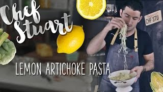 How To Make A Quick 6 Lemon Artichoke Pasta