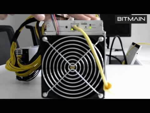 Antminer S9 Set Up Guide