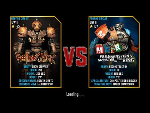 Real Steel WRB Championship Hollow Jack VS Metro Frankenstein NEW UPDATE