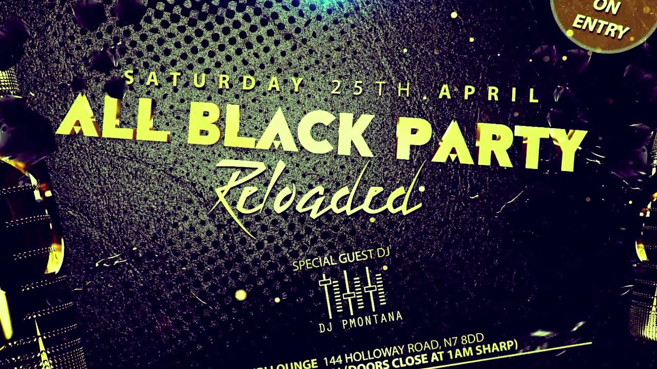 all black party reloaded youtube