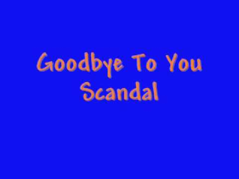 Goodbye To You Lyrics
