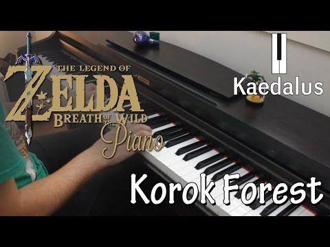 Korok Forest ~ Piano //Zelda: Breath of the Wild