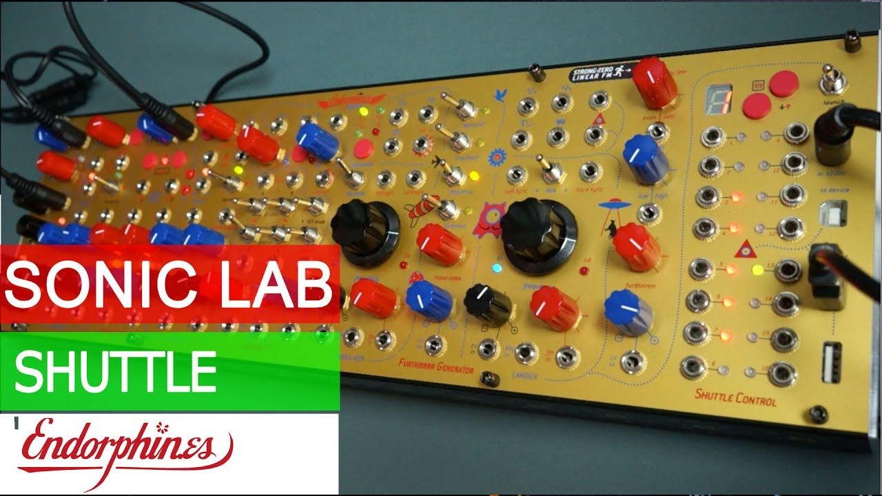 Endorphin es Shuttle Modular Synth System Overview