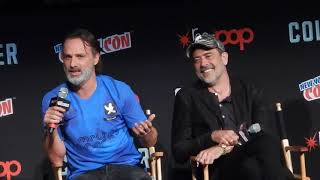 Spotlight: Andrew Lincoln of The Walking Dead dances On Stage at NYCC 2017