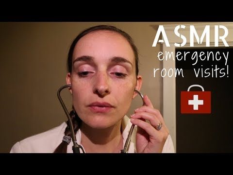 Emergency Room Medical Role Play - Injury Treatments ASMR