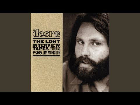 the doors have your earlier visualizations for the group become a realization the lost interview tapes volume two