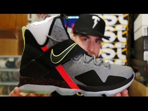 buy online e0693 fb6b6 BEST LEBRON OF THE YEAR!!! Lebron 14 'Out Of Nowhere' Review+Unboxing!!!