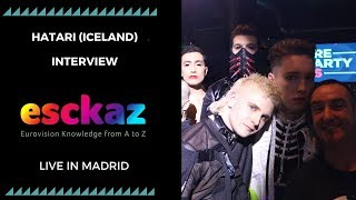 Download Video ESCKAZ in Madrid: Interview with Hatari (Iceland) (at PrePartyES 2019) MP3 3GP MP4