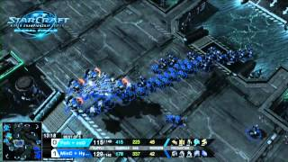 WCS Global Finals 2014 Starcraft 2 - Showmatch - MinC/Hyun vs Polt/Soo