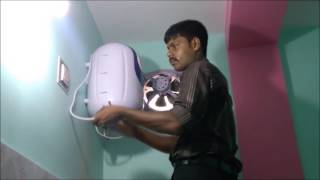 How to install an Electric Water Heater (Geyser): Bajaj Majesty 10 GPU