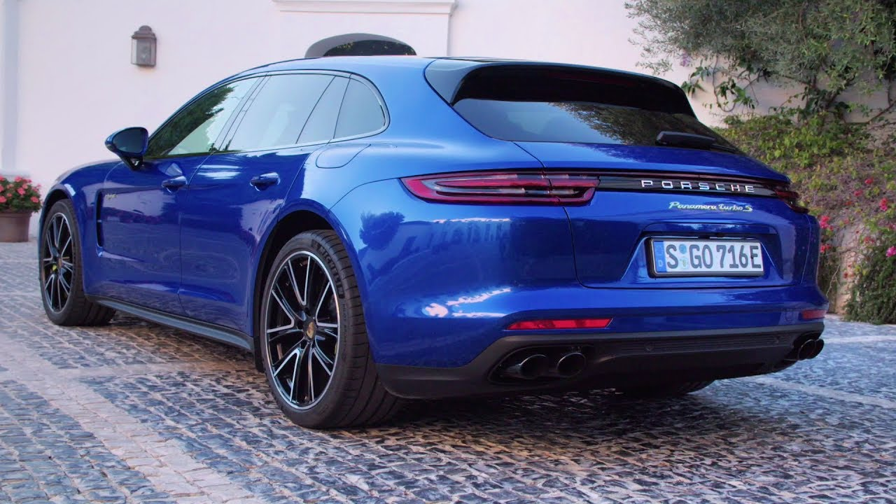 Plug In Hybrid Cars >> 2018 Blue Panamera Turbo S E-Hybrid Sport Turismo - Unique ...
