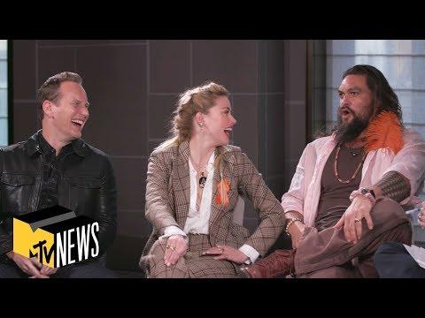 'Aquaman' Cast on Keeping Secrets, Aquababies & 'The Snyder Cut' | MTV News