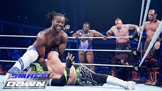 8-Man Tag Team Match: SmackDown, July 30, 2015
