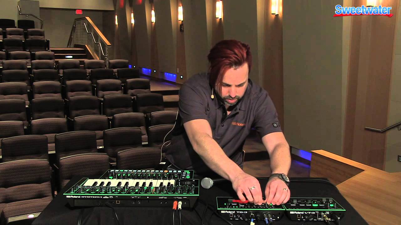 roland aira tb 3 tr 8 vt 3 and system 1 demo sweetwater sound youtube. Black Bedroom Furniture Sets. Home Design Ideas