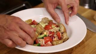 The Science of Cooking: Panzanella and Oven Baked Salmon