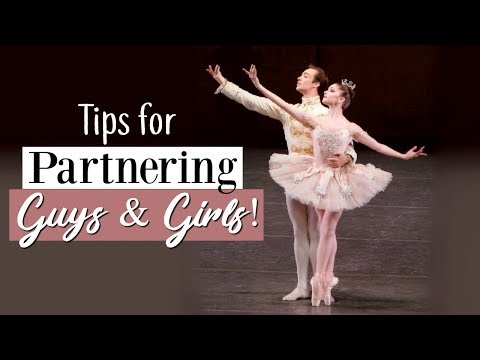 Tips for Partnering & Pas de Deux (Guys & Girls!) | Kathryn Morgan