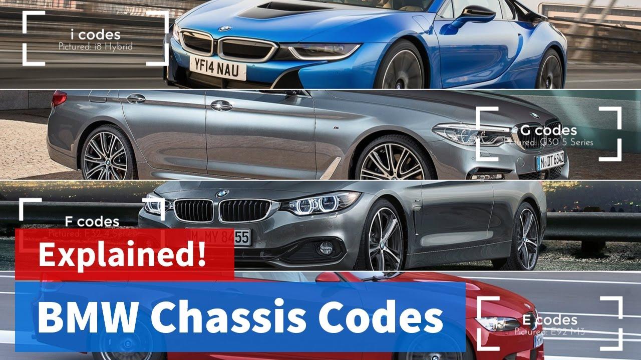 BMW Chassis Codes: Explained! / Vlog #02 - YouTube