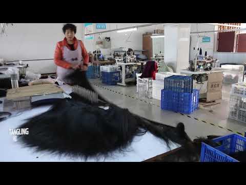ViVIHAIRCOLLECTION Factory China   #1 Human Virgin Hair Factory