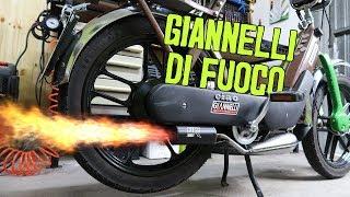 Unboxing, installazione e soundcheck Giannelli Fire per Piaggio Ciao