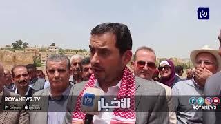 وزير الصناعة يفتتح معرض المنتجات الريفية في محافظة جرش (5-1-2019)