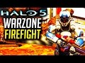 Halo 5 Warzone Firefight FALLING ELITE, SARAH PALMER, FAILS, INTENSE BATTLE Funny Moments