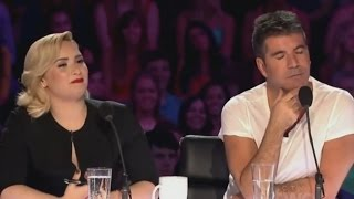 Demi Lovato and Simon Cowell - Funniest moments on The X Factor - Season 3 (2/8) LEGENDADO