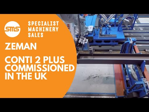 Zeman Steel Beam Assembly Machine - Conti 2 Plus - Commissioned UK 2015