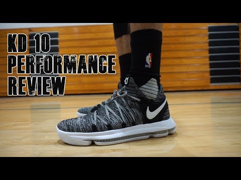 cheaper 0551d 3b484 Nike KD 10 Finger Print Performance Review