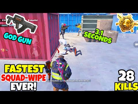 You Will ALWAYS Pick-up Groza After Watching This FASTEST Squad Wipe in PUBG MOBILE •( 28 KILLS) • from YouTube · Duration:  20 minutes 44 seconds