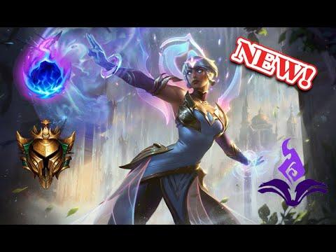 NEW Dawnbringer Karma [AP MID] full gameplay | league of legends | Anesydora