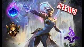 NEW Dawnbringer Karma [AP MID] full gameplay   league of legends   Anesydora