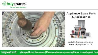 how to change the bearings in a lg washing machine