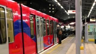 4K: West India Quay DLR Station, London -- Clip No. 1 -- [Panasonic Lumix DMC-LX100]