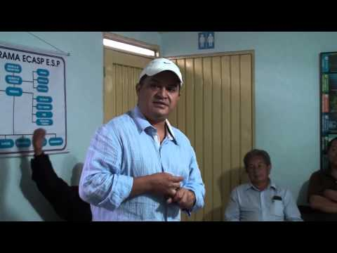 Socializacion micromedición estratos 1 -   2   Alcalde  Municipal de Dagua Diego Fernando Solarte