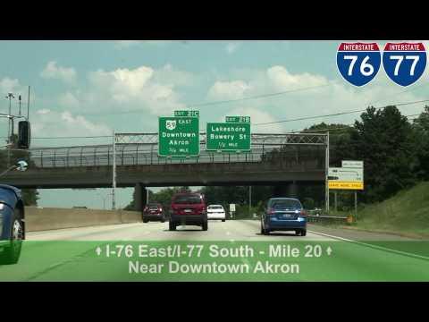 I-77 South: Akron, OH