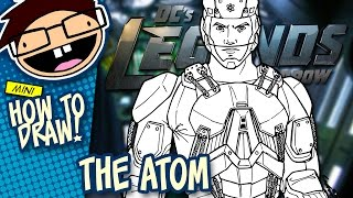 How to Draw THE ATOM (Legends of Tomorrow) | Narrated Easy Step-by-Step Tutorial
