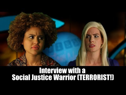 With a Social Justice Warrior Terrorist!