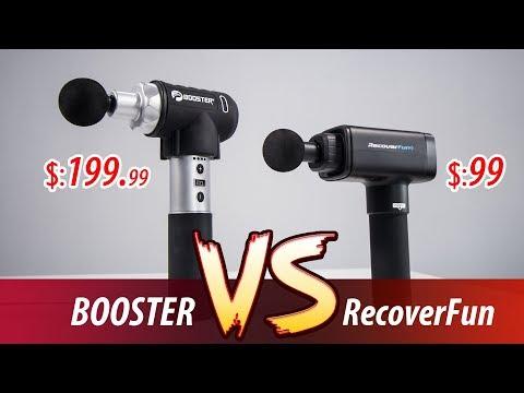 percussion-massage-gun-comparison:-recoverfun-vs-booster-pro-massage-gun