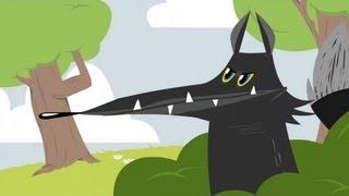 Le Loup et l'Agneau - Les Fables de La Fontaine en dessin animé - Hellokids.com