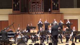 "Iowa State University Jazz Ensemble I - ""Love Walked In"" - George Gershwin, arr  Kim Richmond"