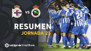 Resumen de RC Deportivo vs Real Racing Club (2-1)