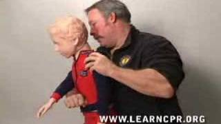 First Aid For Choking Children