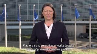 Violeta Bulc - video nagovor v podporo VIZIJI NIČ (SLO podnapisi)
