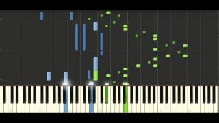 Chopin Etude Op. 25 No. 5 - Piano Tutorial - Synthesia