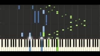 Chopin Etude Op. 25 No. 5 - Piano Tutorial - Synthesia