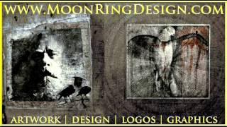 Metal Designs Artworks Album CD Covers Layouts Art by www.MoonRingDesign.com