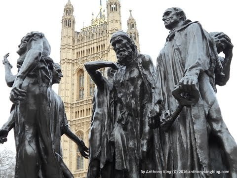 The Burghers of Calais by Auguste Rodin, Victoria Tower Gardens, London - Analysis - PODCAST